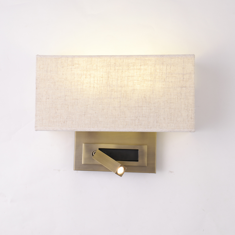 Uno Bh 45a Mother Amp Child Wall Sconce For Hotel Bedside